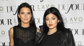 Kendall and Kylie (left to right)